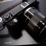 E 50mm F1.8 OSS SEL50F18とNEX-6オールブラック仕様