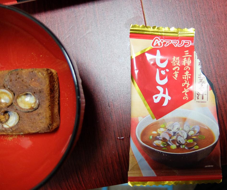 アマノフーズ味噌汁フリーズドライ