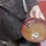 アマノフーズの味噌汁が美味しいフリーズドライってのに感動したわ