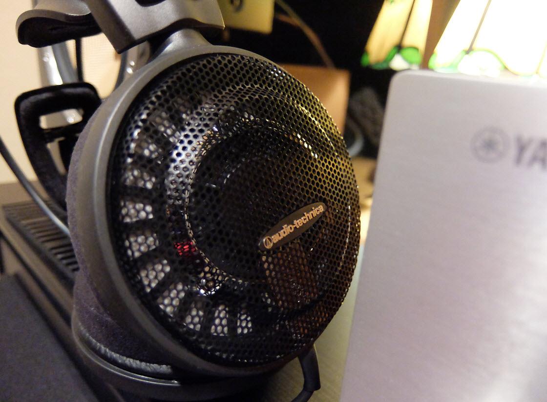 オーディオテクニカ 開放型ヘッドフォン