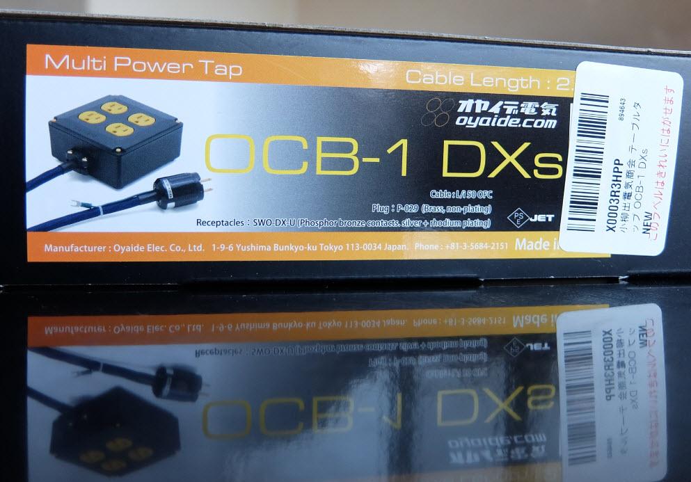 電源タップ交換OCB-1 DXs