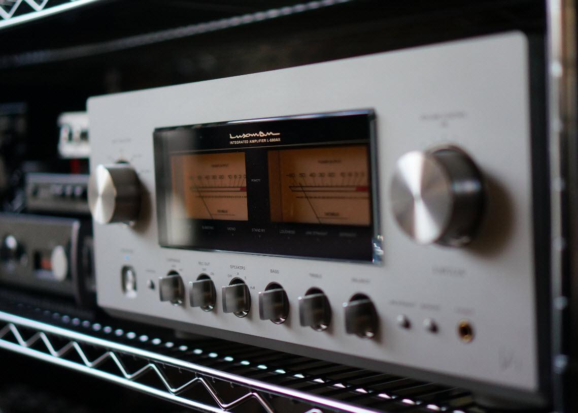 LUXMAN L590AXレビュー デジタルアンプと比較