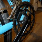 GIANT DEFY4息子のロードバイクClaris他自転車部品メモ写真