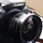 LUMIX G7と14mm/F2.5にワイコンDMW-GWC1装着テスト動画と写真