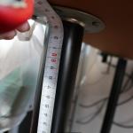 IKEA伸縮式のテーブル脚でPCデスクの高さ調整すれば腰痛もおしり痛もサヨナラ