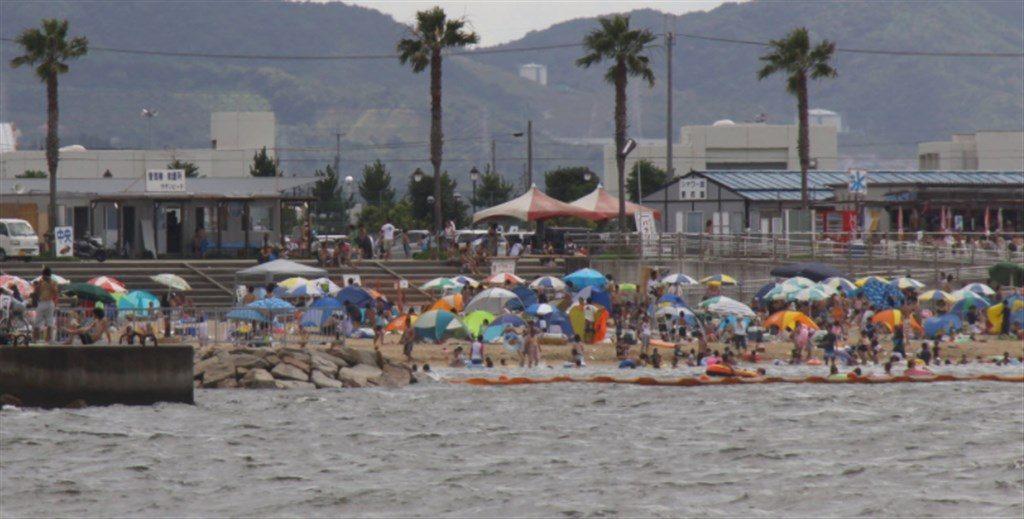 樽井サザンビーチ|大阪湾の海水浴場は夏休み向けだが水質がちょっと。