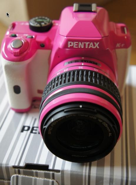 Pentax K-rピンク白買ったんでちょいレビュー書いときます