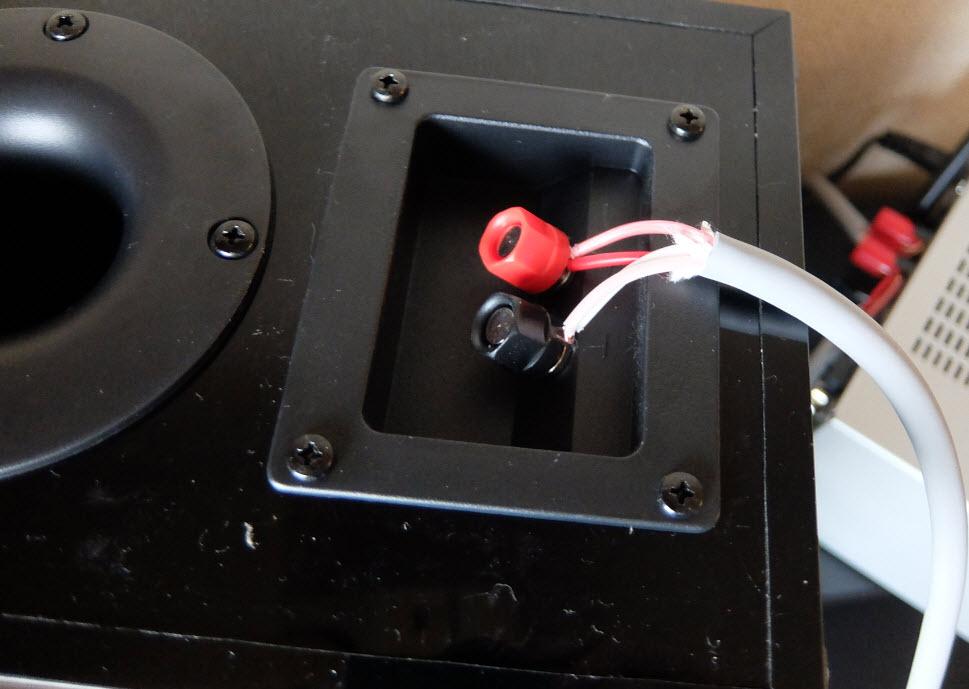 4芯の太いスピーカーケーブル交換の効果