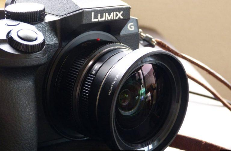 LUMIX G7に14mmF2.5とワイコンの画角テスト