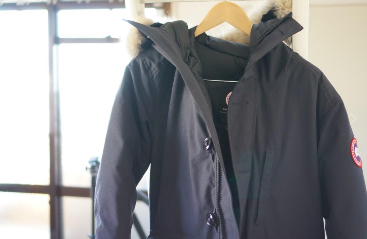 カナダグース着用中のメンズダウンジャケット「ブルックフィールドパーカー」が寒がりの僕にはちょうどいい