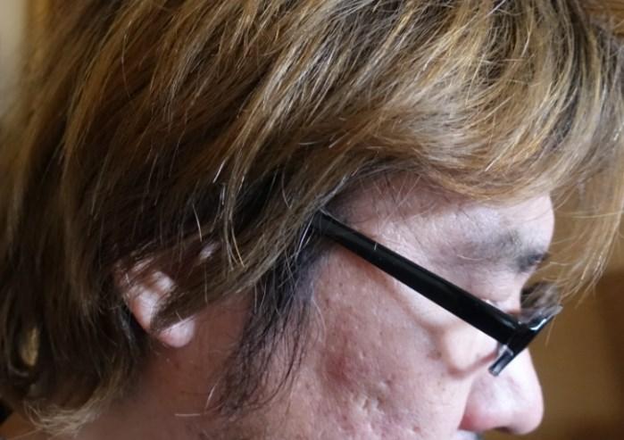 ぶら下げる老眼鏡