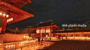 四天王寺|万灯供養2010年お盆の風景写真