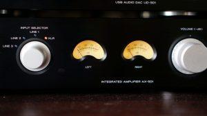TEAC AX501BデジタルアンプとTechnics SH-9033Pグラフィックイコライザー導入