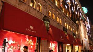 景気が悪いように見えたクリスマスの写真~大阪心斎橋