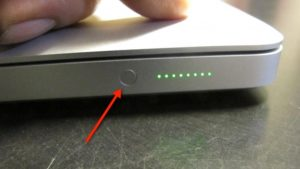 MacBook Proのバッテリー残量インジケーター素敵!