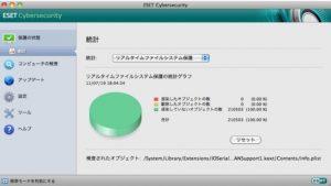 ESET Cybersecurity Macをアンインストール( uninstall )する方法