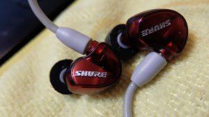 SHURE SE535 LTDレビュー高音再生が優れたイヤホンならではのiPhoneとのマッチング原音再生能力の高さが魅力