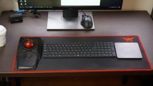 Logicool T650とKensingtonトラックボールでワイヤレスデスクトップ環境をテスト