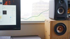 デスクトップPCのスピーカーをアクティブスピーカーに~音の好みは変化する