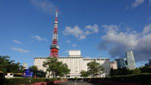 東京プリンスホテル宿泊レビュー東京タワーがとてもキレイに見える駐車場が広い便利なホテル