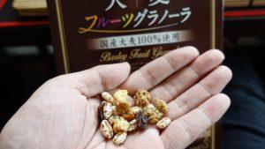 「大麦工房ロア」大麦フルーツグラノーラ国産大麦100%の食感と腹持ちレビュー
